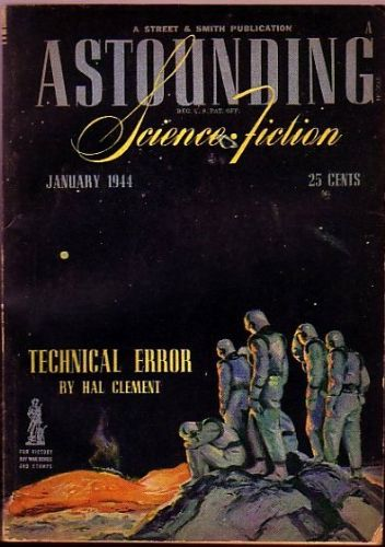 Astounding Science Fiction, January 1944