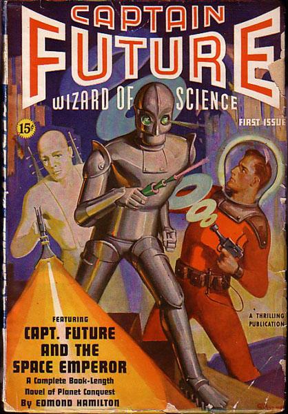 Captain Future Winter 1940
