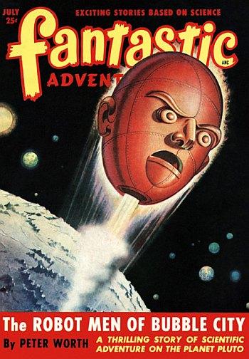 Fantastic Adventures July 1949