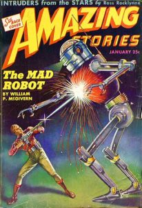Amazing Stories, January 1944